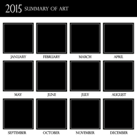 2015 Summary of Art by vampirekingdom