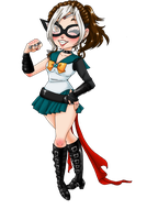 Sailor Umbriel Chibi by LadyMako