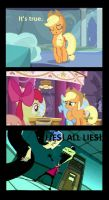 Apple Horse Cries on the Inside by Popculture-Patron