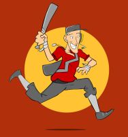 Badge: Scout, Team Fortress 2 by kkyz13