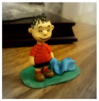 Linus in plasticine by Bele-xb7