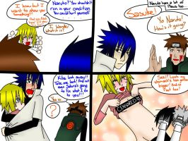 SasuNaru 9 Months Pregnancy Week 11 Naruto's Flaws by YamiRiusu