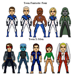 Teen Marvel Universe 2 by Facumagia