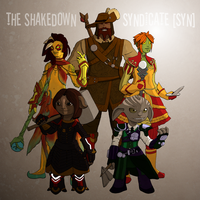 GW2: The Shakedown Syndicate by AriadneArca