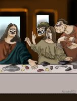 Last Meme Supper by Kaizoku501