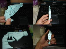 Hades papercraft _rough model_ by Black-Cat-Train