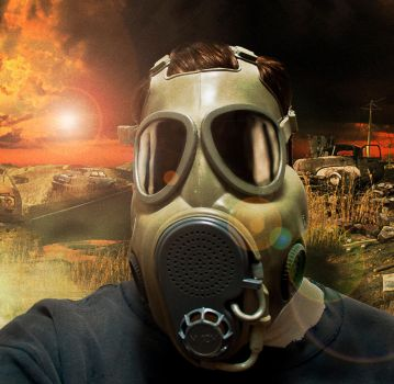 GAS MASK by drzack69