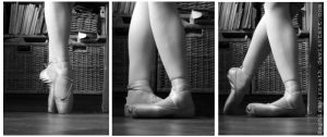 Ballet shoes by SaphiraNirnaeth