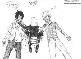 after Naruto 698  Baka Team 7 by Shaolinrachel