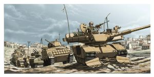 Armoured Division by anakingusan
