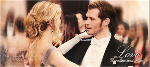 Klaus and Caroline - The Vampire Diaries by MISA0710