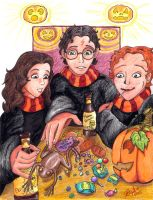 Harry Potter - Halloween Haul by Myrcury-Art