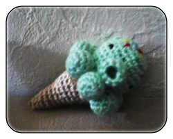 Pistachi-Octo Cone by PlushieStuffies