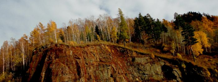 Autumn on the slope by heizel-anderson