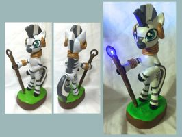 Light-Up Zecora Sculpt by CadmiumCrab