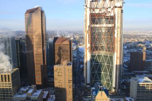View from Calgary Tower by Lady-Lilith0666