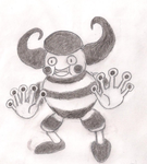 Mega Mr. Mime by ToxicWyvern