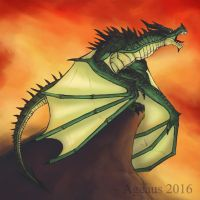 DRAGONS: Jade Wyvern by Ageaus