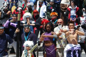 Naruto Gathering: EVERYONE, part 2 by miss-a-r-t
