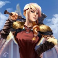 Astrid by mangamie