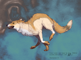 wolf adoptable 13 by Black-pond-adopts