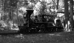 Outback Train in Black and White by AlgeriArts