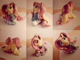 Tendershy (Fluttershy clay figure) by nicolaykoriagin