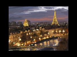 Paris Speed Painting by RQuack