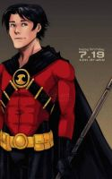 DC - Tim Drake by Cat-s-Art