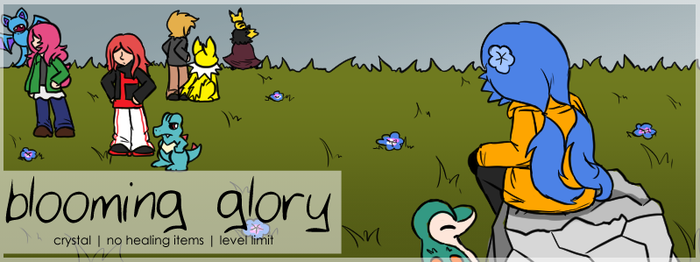 Blooming Glory: A Crystal Nuzlocke by SpaceyPaints