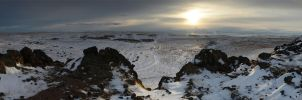Kuna Butte Snow 2013-01-11 by eRality
