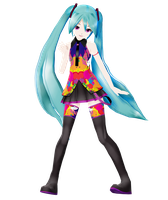 .: DL Series :.LAT Tell Your World Miku Hatsune by Duekko