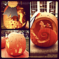 The Nightmare Before Christmas Pumpkin Carving 1 by alisagirard