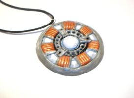 Iron Man Arc Reactor Necklace by 13Valentines