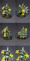 King Rammus and Plumber Teemo sculpture by SomaKun