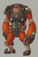 Bighand Space Pirate by StMan