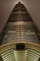 Jin Mao Tower by tr3ocrue