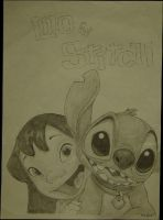 Lilo and Stitch by benigum