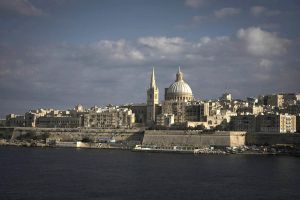 Valletta from Fort Manuel by davidsant