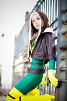 Rogue: The physical strength by honey----bunny