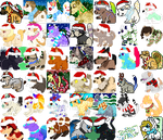 Winter/Christmas icon batch[EDIT 6] by AusieOtterPie