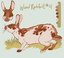 Wood Rabbit Adoptable 4 by Maresy