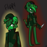 Flippy by nyan-scourge