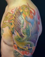 Phoenix Tattoo by BlackStarTattoo