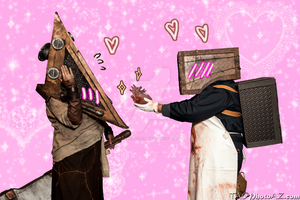 Pyramid Head Finds Love by TaoPhotography