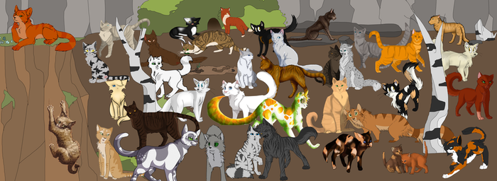 THUNDERCLAN COLLAB by Nharlie