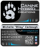 CanineHybrid Business Cards 2012 by CanineHybrid