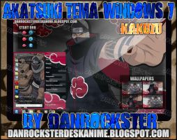 Kakuzu Theme Windows 7 by Danrockster