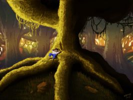 Kid of the forest by Orboldar
