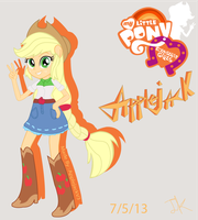 EG Applejack by Arteses-Canvas